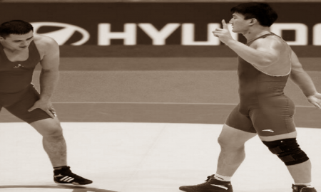 Asian Olympic Qualifier for Greco Day 3