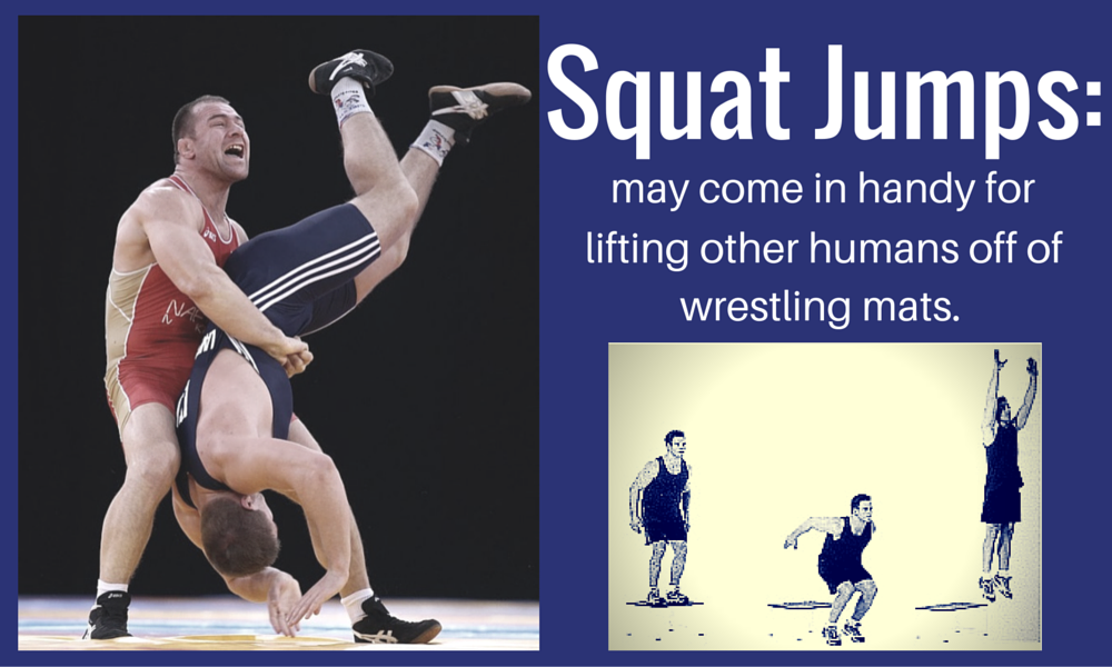 Squat Jumps for Greco Roman Wrestling