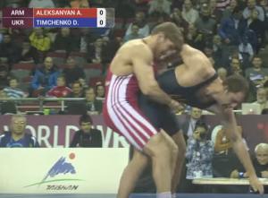 Aleksanyan lifts Timchenko
