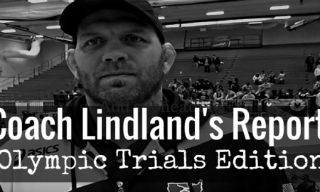 Coach Matt Lindland Weekly Report
