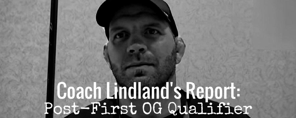 Coach Lindland's Report