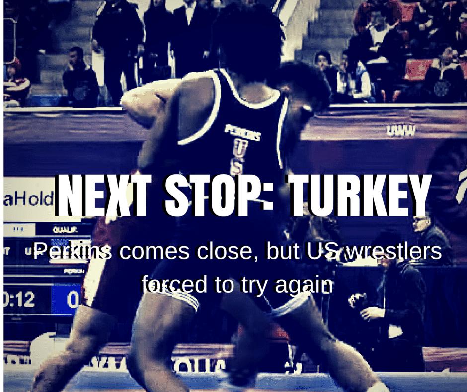 NEXT STOP- TURKEY