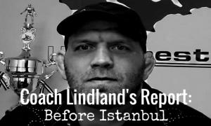 Coach Matt Lindland Before Istanbul