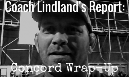 Coach Lindland's Report - Concord Wrap-Up