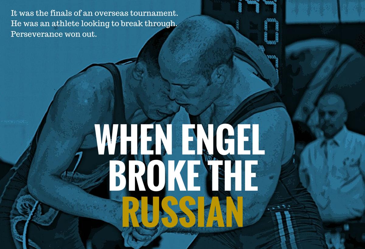 Nate Engel greco roman wrestling