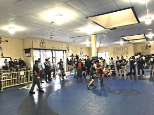 Action at the CYC in Concord