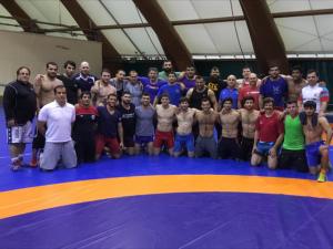 Azerbaijan greco Olympic camp