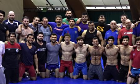 Greco Olympic Camp - Azerbijan