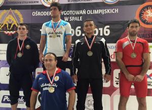 Patrick Martinez (NYAC) 80 kg bronze medal Poland Open