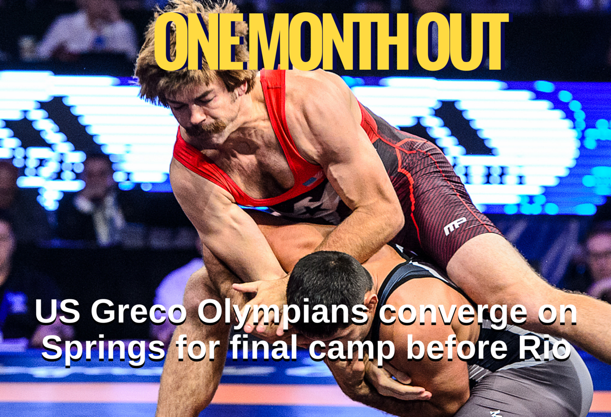 US Greco Roman 2016 Olympic team