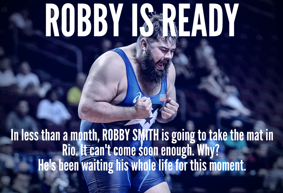 ROBBY IS READY