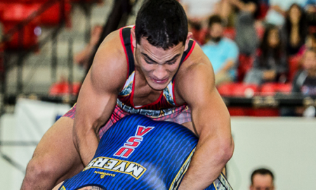 Martinez enters UWW Greco World Rankings