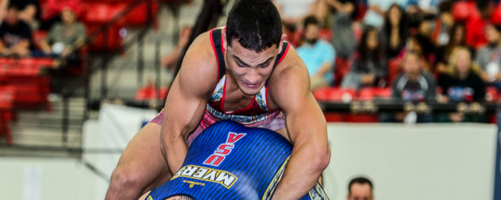 Martinez enters UWW Greco World Rankings
