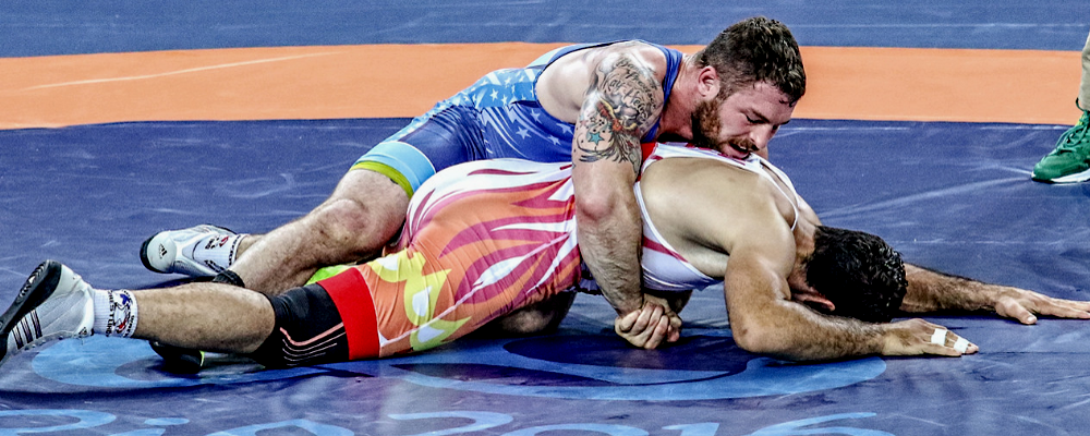Ben Provisor is one of the 2016 US Greco Roman Olympians who will continue competing