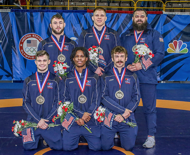 The 2016 US Greco Roman Olympic Team