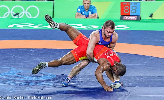 davit chekvetadze 2016 rio olympics gold medalist