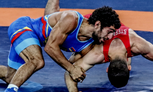 Migran Arutyunyan lost via controversial call at the Rio Olympics