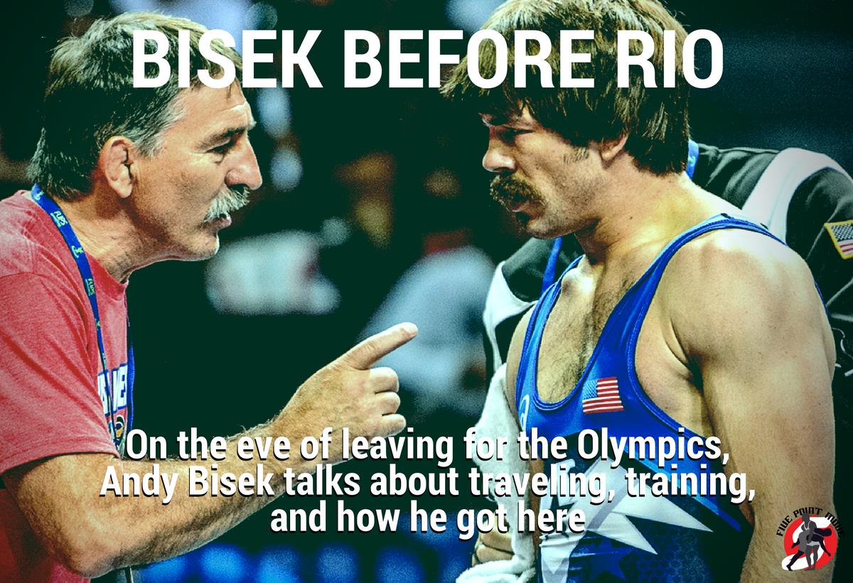 Andy Bisek US Greco Roman Rio 2016