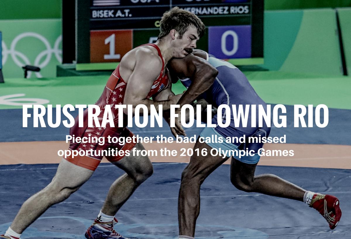 Andy Bisek 2016 Olympics Greco Roman