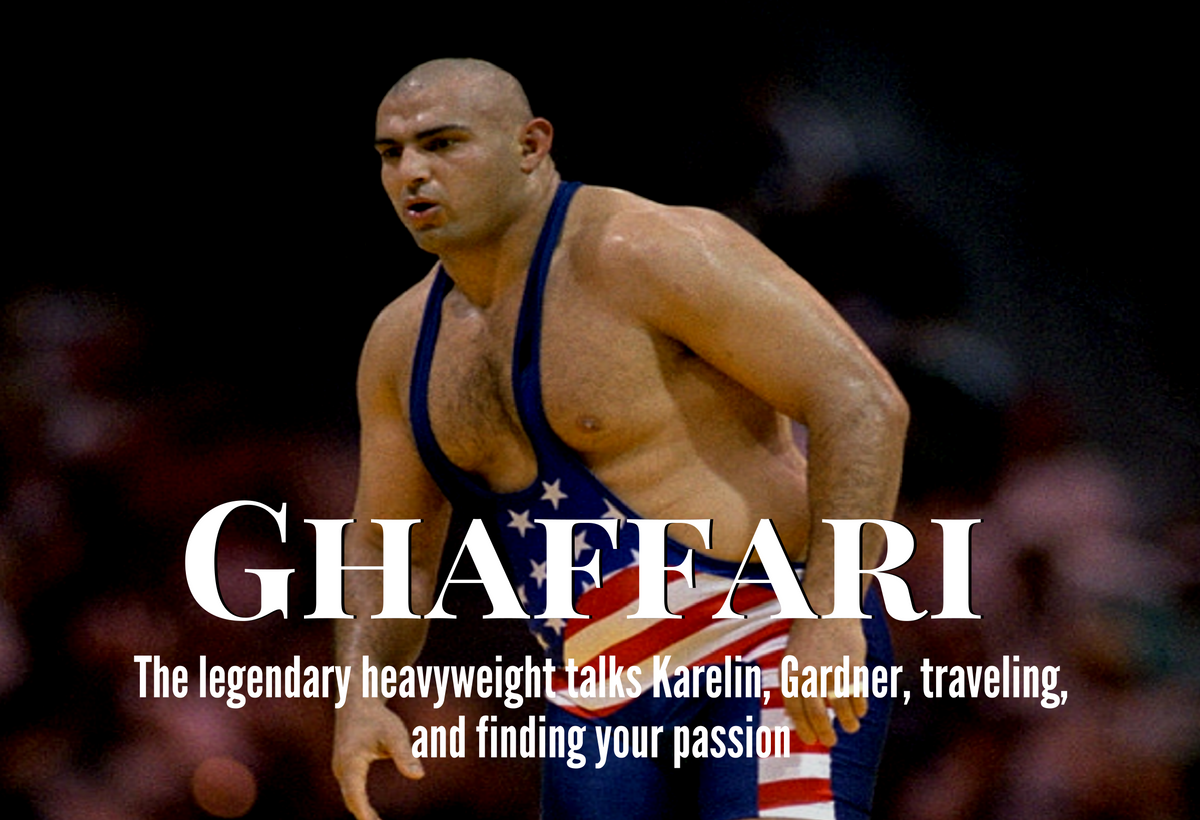Matt Ghaffari, Greco heavyweight
