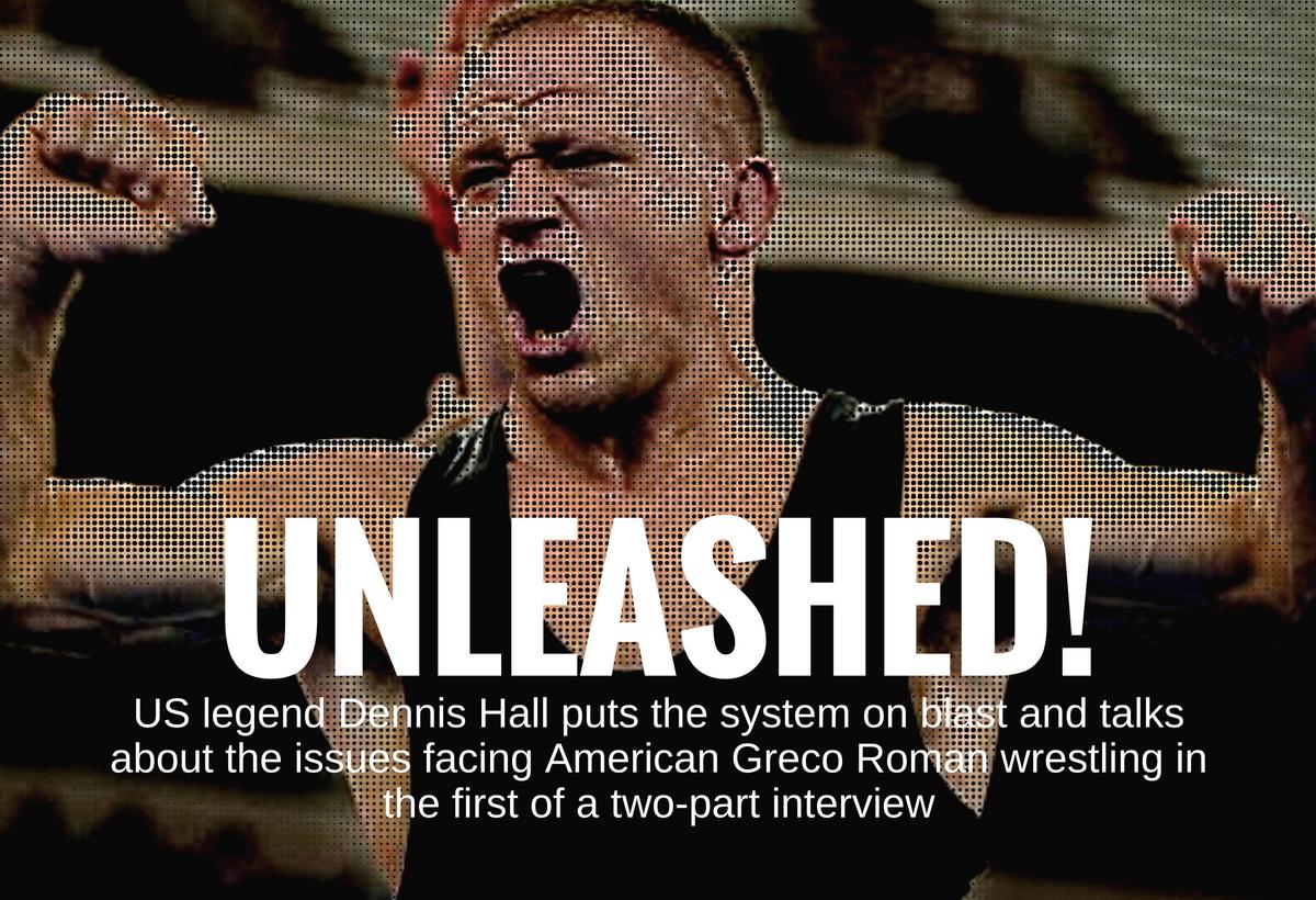 Dennis Hall interview, USA Greco Roman wrestling