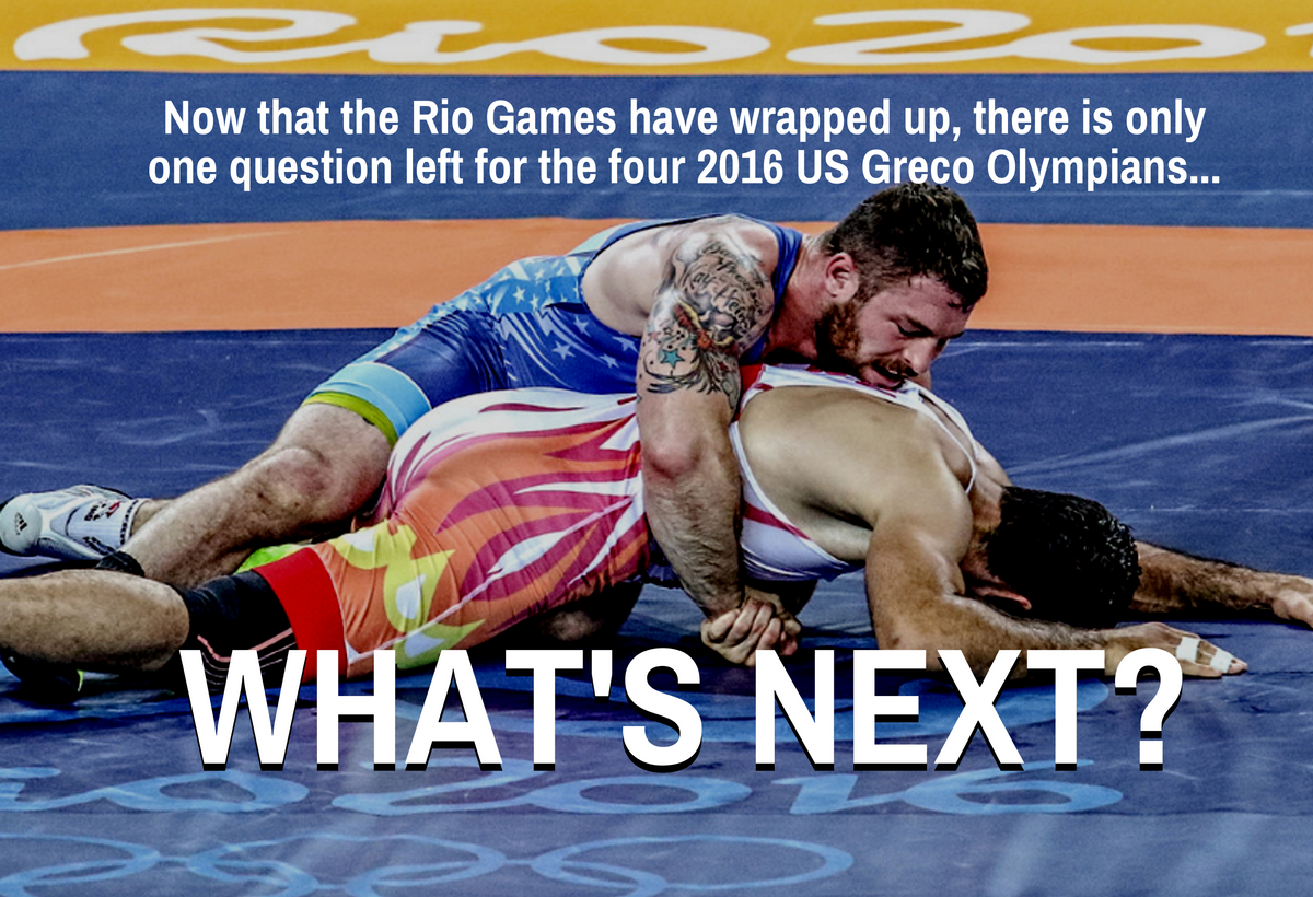 2016 US Greco Roman Olympians