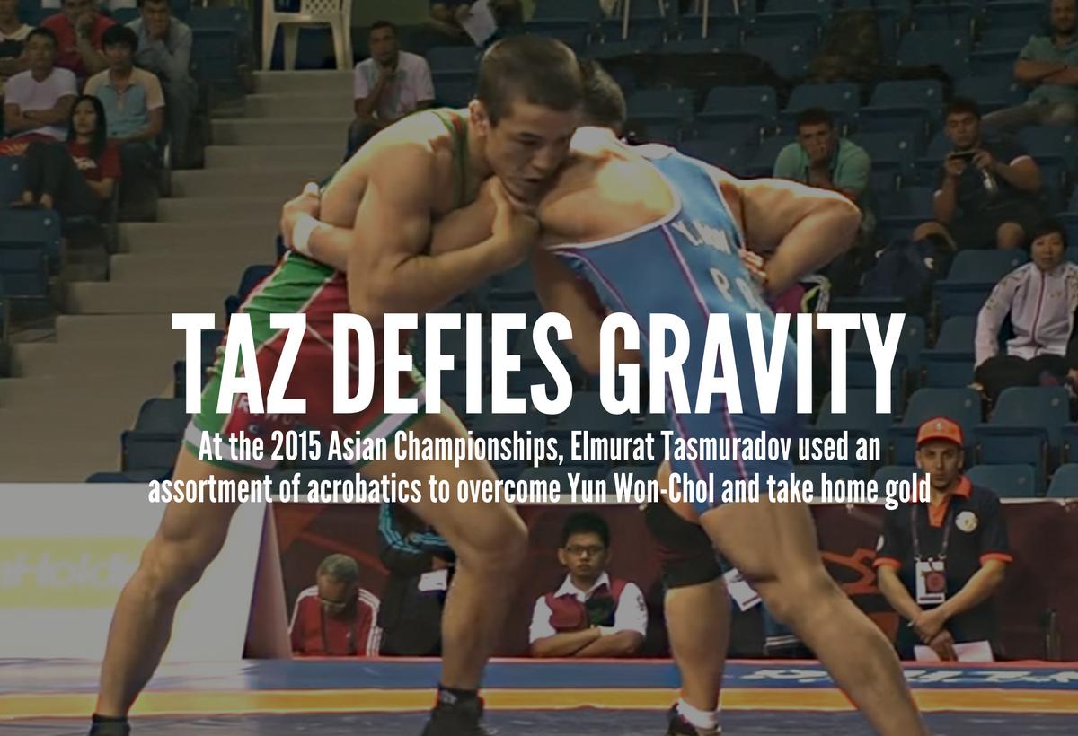 Tasmuradov defeats Yun Won-Chol-Chol