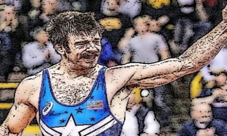Andy Bisek and the 2016 US Olympic Greco Roman Team