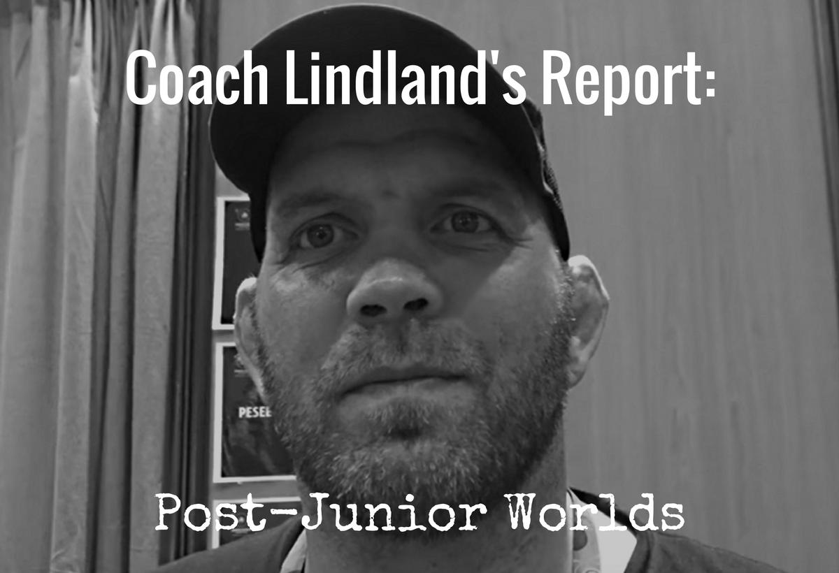 Matt Lindland report