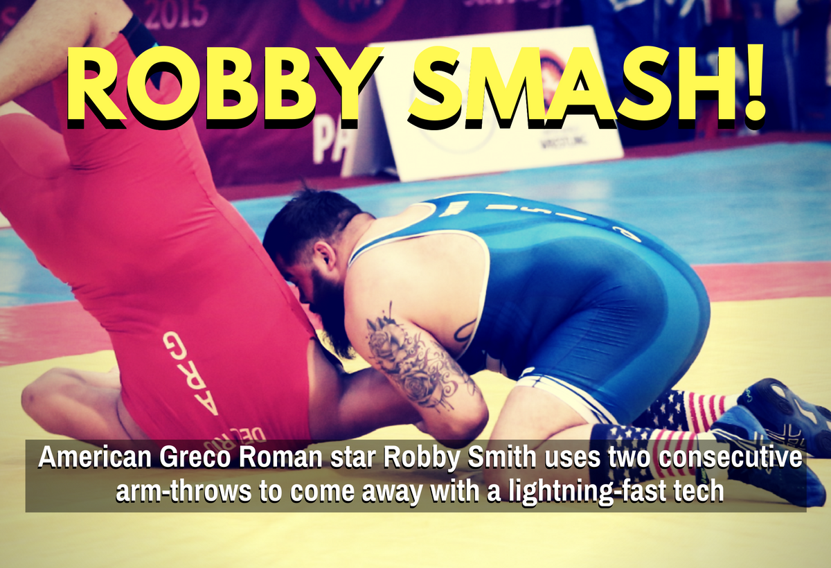 robby smith greco roman arm throw