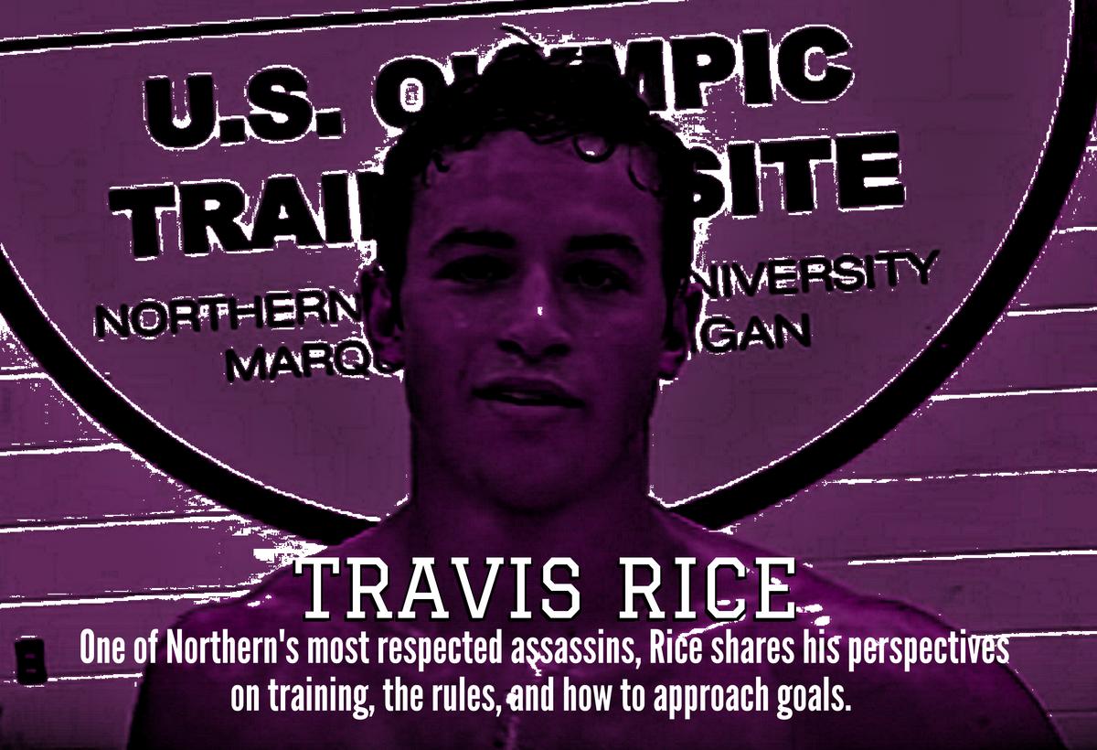 Travis Rice, Northern Michigan Greco Roman