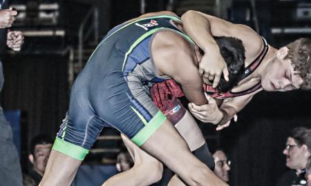 Lucas Steldt Combat High Performance Greco Roman Training