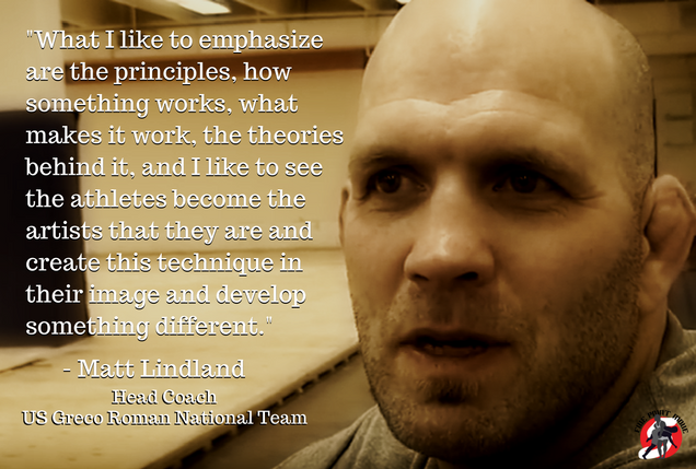Coach Matt Lindland quote