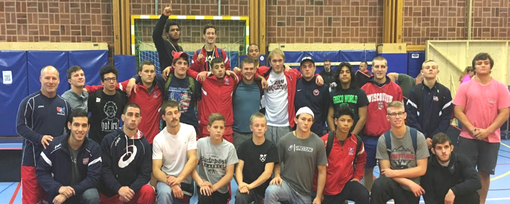 USA Greco finishes in second at the 2016 Klippan Cup in Sweden