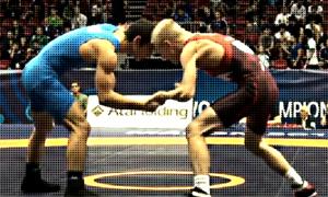 Dalton Roberts, NMU, Greco Roman wrestling