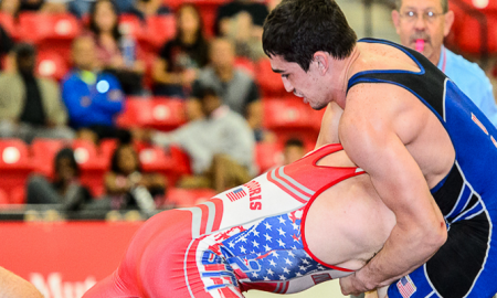Alex Sancho, US Greco-Roman wrestling
