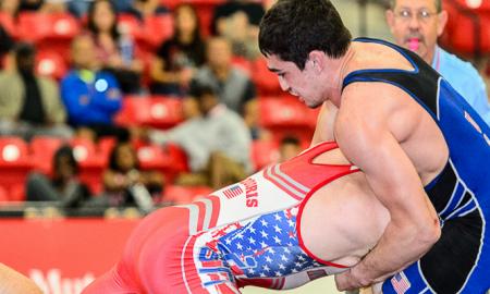 Alex Sancho, US Greco-Roman wrestling