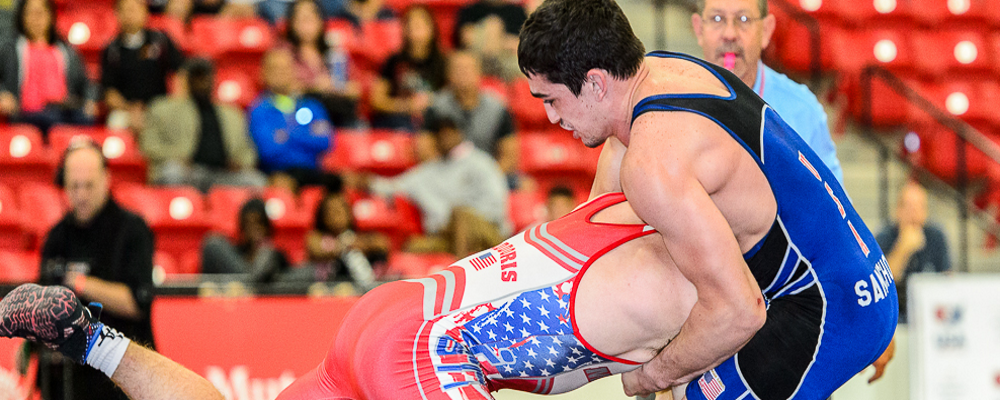 Alex Sancho, US Greco Roman wrestling