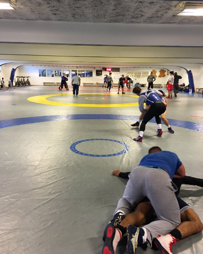 USA Greco Roman Northern Michigan athletes in Sweden