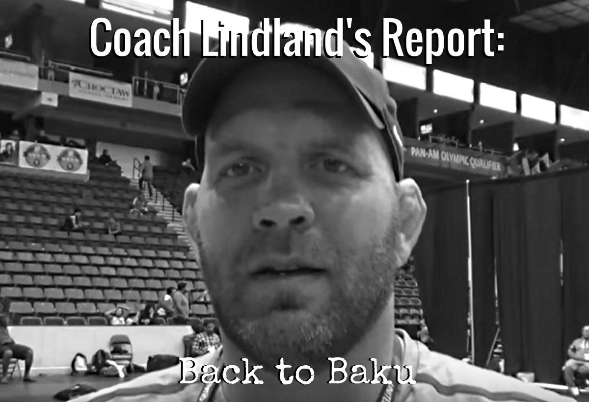 US Greco coach Matt Lindland