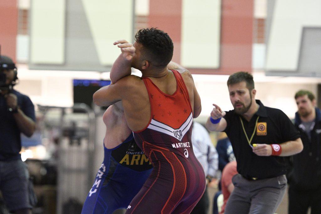 Patrick Martinez wins 2016 Greco Roman Non-Olympic World Team Trials