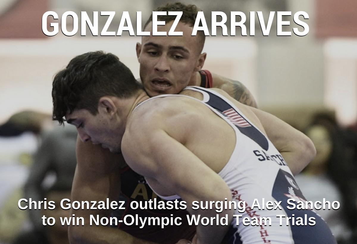 Chris Gonzalez, 71 kg, US Non-Olympic Trials