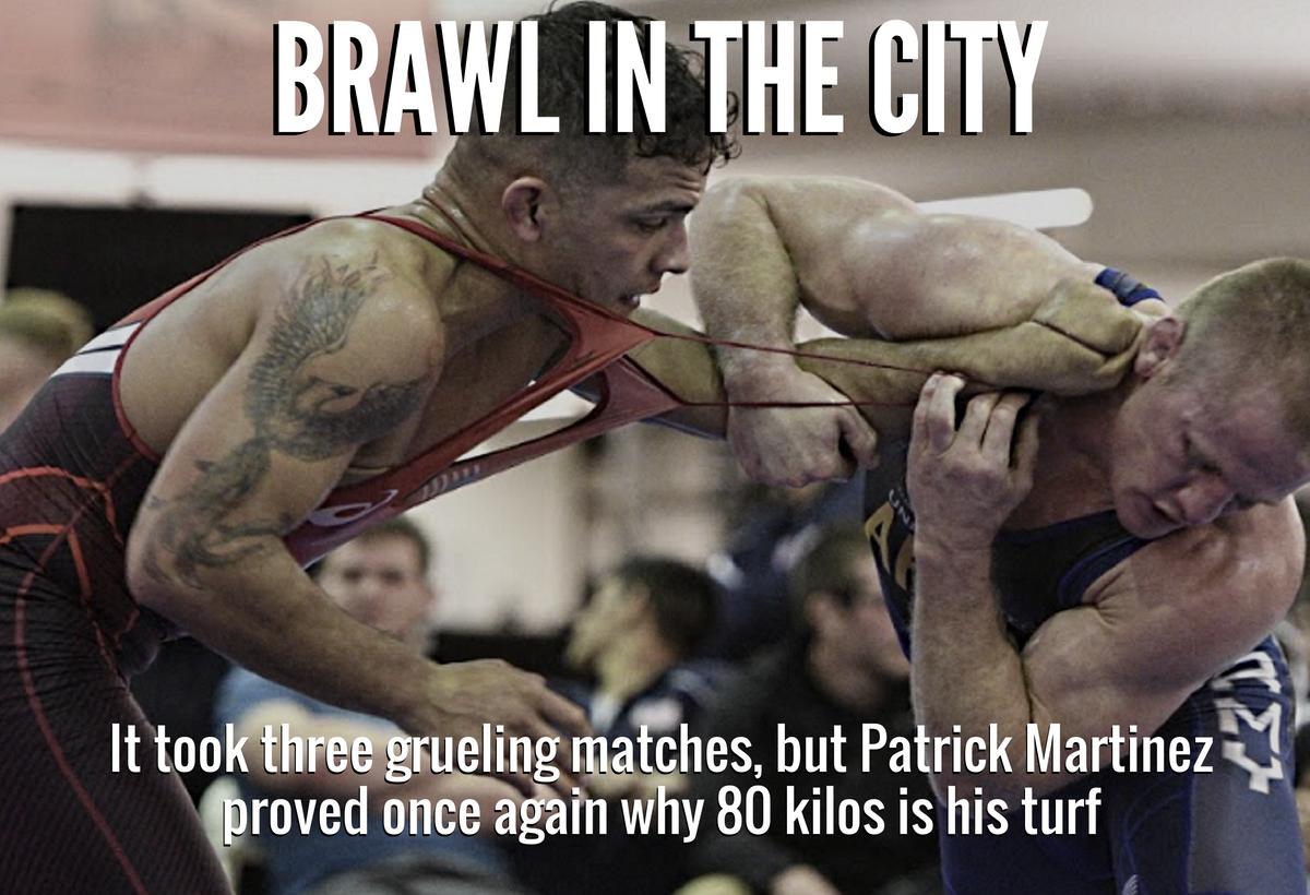 Patrick Martinez, 80 kg, 2016 US Non-Olympic Trials