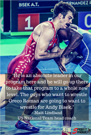 Andy Bisek, new assistant coach at Northern Michigan