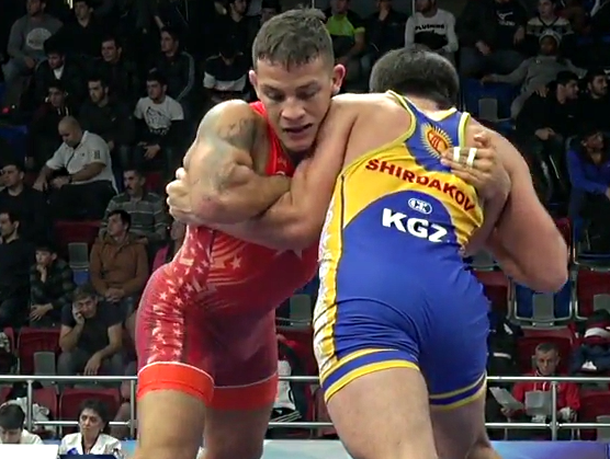 Patrick Martinez, 80 kg, Golden Grand Prix