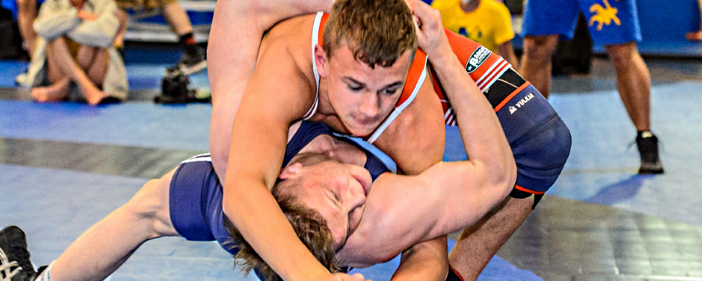 Michael Donato was one of three US wrestlers to pick up wins in Sweden