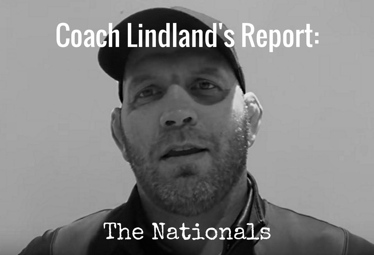 Coach Lindland's Report- December – US Nationals