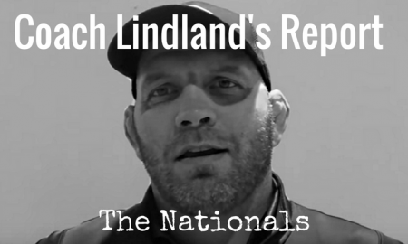 US Greco Roman head coach Matt Lindland's Weekly Report