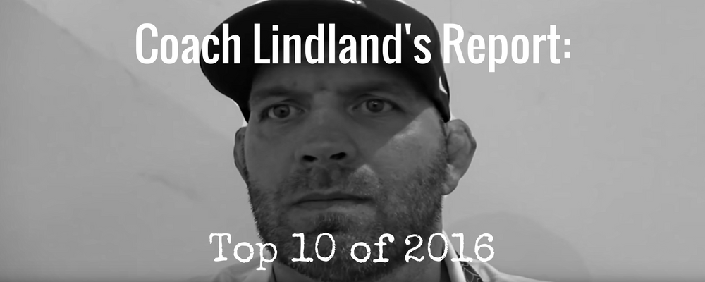 Top 10 Coach Lindland Reports