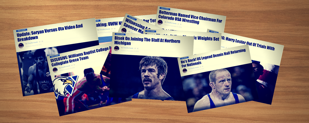 2016 Biggest Greco Roman wrestling stories